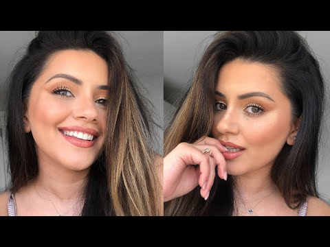 HEAD TO TOE GLOWING SUMMER MAKEUP TUTORIAL x BECCA CHAMPAGNE POP COLLECTION   AD