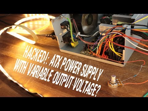 HACKED!: ATX Power Supply with Variable Output Voltage?