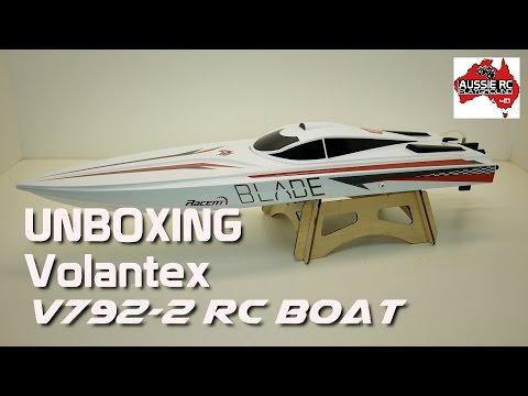 Unboxing: Volantex V792-2 RC Boat (AKA: Blade) - UCOfR0NE5V7IHhMABstt11kA
