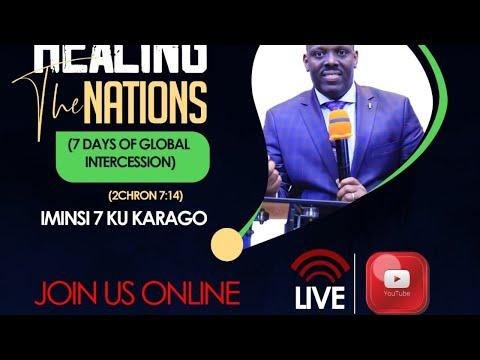 LIVE // FOURSQUARE TV -''Turarinzwe Zaburi 91 '' By BISHOP Dr. Fidele MASENGO 27.03.2020