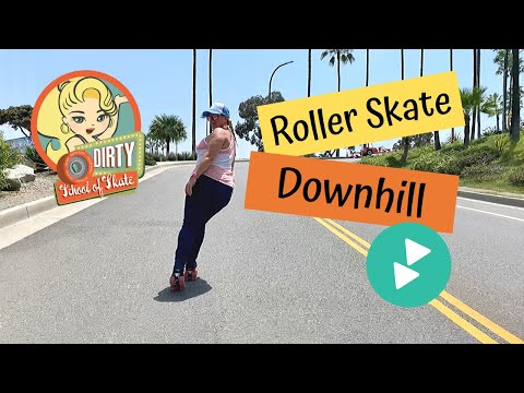 How to Roller Skate Downhill
