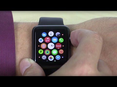 Good Work Demo on Apple Watch