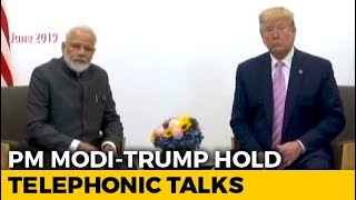 PM Speaks To Donald Trump, Flags