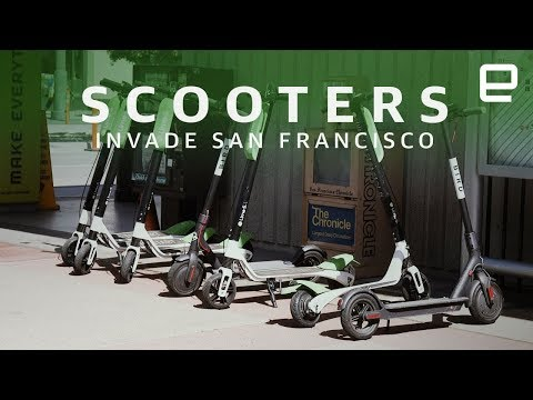 Scooters Invade San Francisco