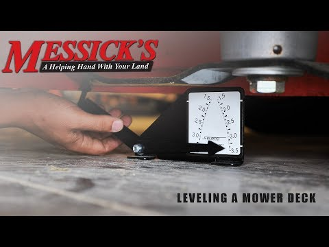 How to level a Mower Deck | Fantastic tool! Picture