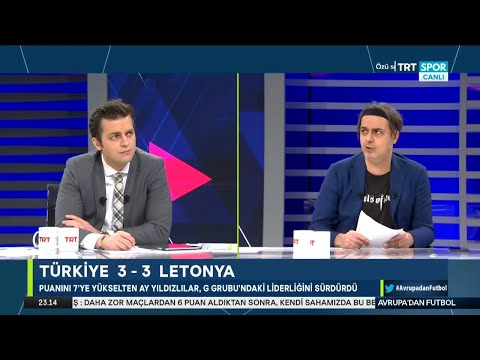 Tam Bölüm – Avrupa'dan Futbol – Erbatur Ergenekon ve Ali Ece | Türkiye-Letonya, Fatih Terim, Ronaldo
