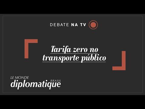 Tarifa zero no transporte público - Programa Le Monde Diplomatique Brasil #31