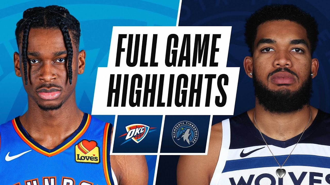 THUNDER at TIMBERWOLVES | FULL GAME HIGHLIGHTS | March 22, 2021