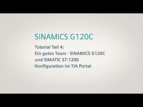 SINAMICS G120C, Tutorial Teil 4