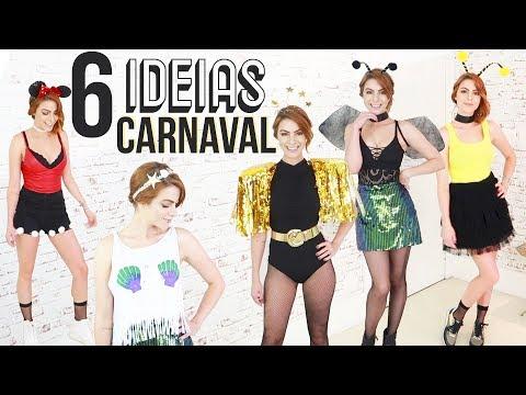 DIY Como fazer sua fantasia com o q vc tem em casa!  o Carnaval