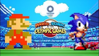 Mario & Sonic at the Olympic Games Tokyo 2020 - Official Classic 2D Events Reveal Trailer