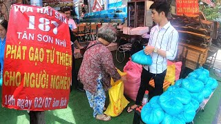 Địa điểm phát Gạo từ Thiện tới người nghèo ngày mùng 2 và ngày 16 hàng Tháng | Saigon Travel