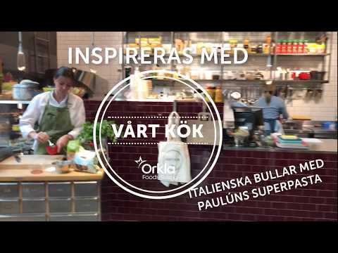 Inspireras med Vårt Kök italienska bullar med Paulúns superpasta