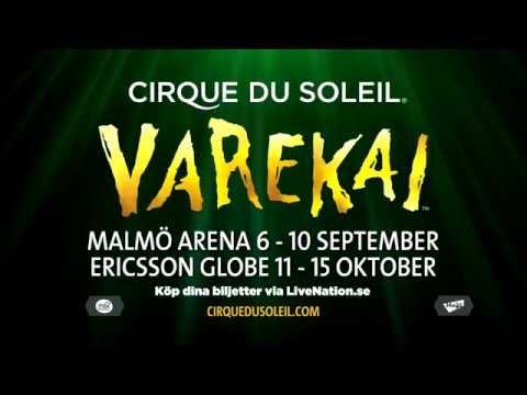 Cirque Du Soleil Varekai - Malmö och Stockholm 2017