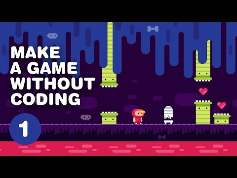 How to MAKE A VIDEO GAME without coding - 2D Platformer - Construct 3 Tutorial For Beginners