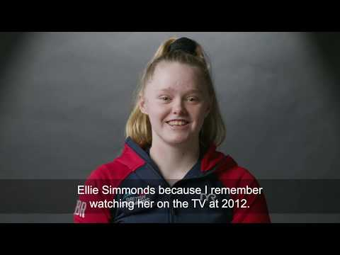 QUICKFIRE QUESTIONS WITH ELLIE CHALLIS - THE PARA-SWIMMING SENSATION!!