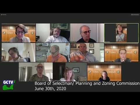 Board of Selectmen/Planning & Zoning Commission Joint Meeting, July 7, 2020