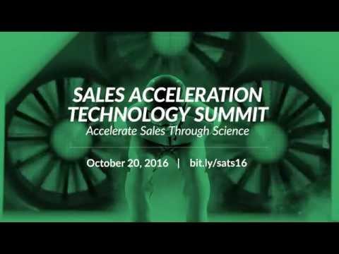 Sales Acceleration Technology Summit 2016 Teaser - #SalesSummit
