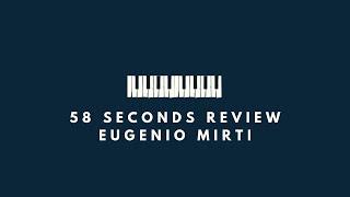 58 seconds review 10 agosto: Bassically Jazz - David Finck – Barton Avenue