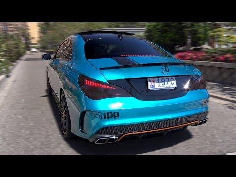 Mercedes-Benz CLA 45 AMG Coupe OrangeArt Edition w/ iPE Exhaust!