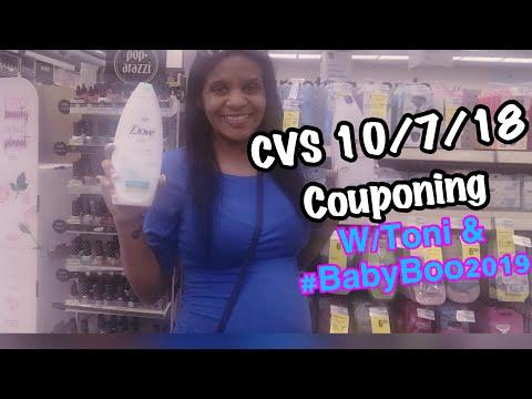 CVS Couponing Haul 10/7/18