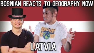 Bosnian reacts to Geography Now - Latvia