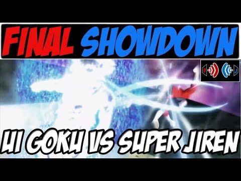 FUll FIGHT ANALYSIS - ULTRA INSTINCT GOKU vs. SUPER JIREN