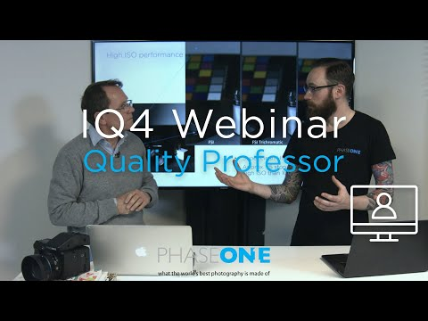 Education I Webinar: The IQ4 150MP - Image Quality Professor | Phase One