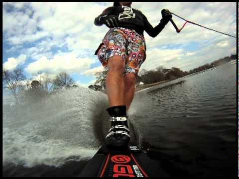 GoPro Water Ski Slalom Test - Adam Sedlmajer