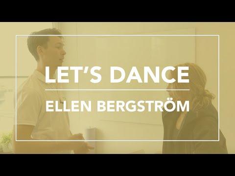 Ellen Bergström från Let's Dance besöker Skandinaviska Kiropraktorhögskolan.