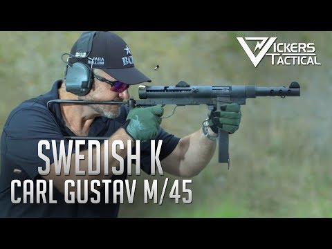 Swedish K - Carl Gustav M/45