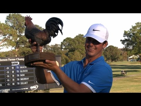 Highlights   Cody Gribble hooks his first title at Sanderson Farms
