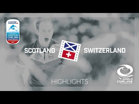 HIGHLIGHTS: Scotland v Switzerland - Semi-final - Le Gruyère AOP European Curling Championships 2017