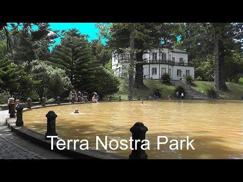 AZORES: Terra Nostra Park, Furnas - São Miguel Island