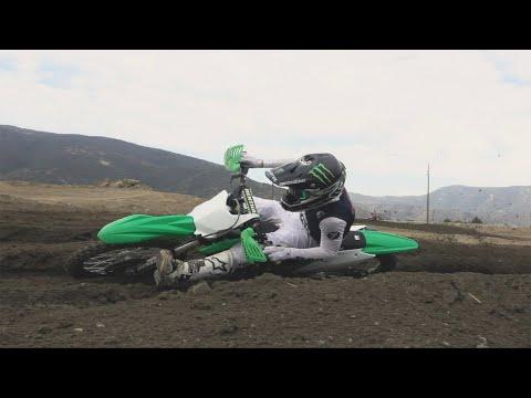 Dilan Schwartz shredding on his Pro Circuit Kawasaki | RAW | TransWorld Motocross