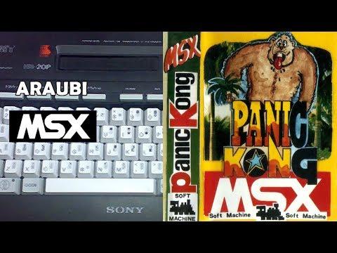 Panic Kong (Soft Machine, 1986) MSX [178 BIS] Walkthrough Comentado