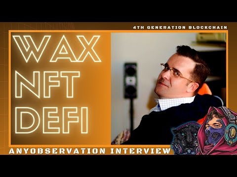 WAX Defi is here! | Interview with the Lead Engineer, Lukas sliwka!