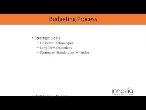 CIO Budgeting and Planning