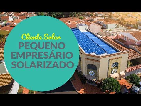 Cliente Solar: Pequeno Empresário Solarizado