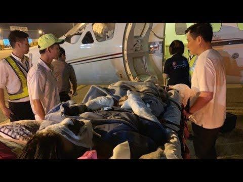 Việt kiều bị tạt axit, cắt chân được chở về Canada điều trị