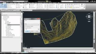 How to create surface from polylines in Civil 3D mp4