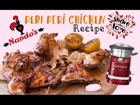 Nando's Peri Peri Chicken Recipe DIY make it at Home - KitchenAid ARTISAN cook processor Thermomix - UCnYsJHu8LKZLycAeSNn8eMA