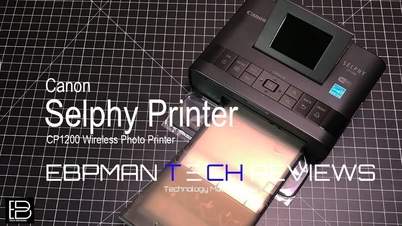 Canon Selphy Cp1200 Wireless Photo Printer For Diy Photo