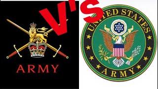 British Army V's U.S Army Recruitment 2019