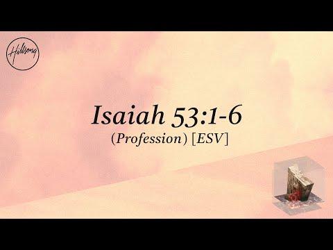 Isaiah 53:1-6 (Profession) [ESV] - Hillsong Worship