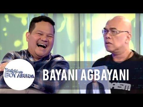 Bayani takes on the Whola challenge with Boy Abunda! | TWBA