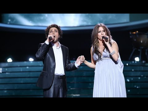 Cristina Ramos y Blas Cantó imitan a Céline Dion y Josh Groban en 'The prayer' – Tu Cara Me Suena