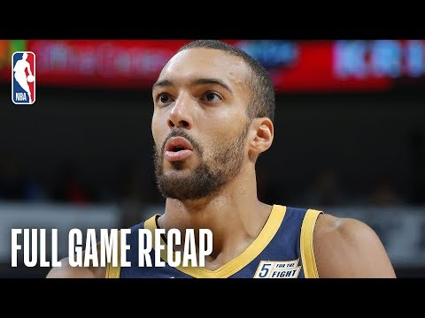 JAZZ vs PELICANS | Derrick Favors & Rudy Gobert Lead Utah | March 6, 2019