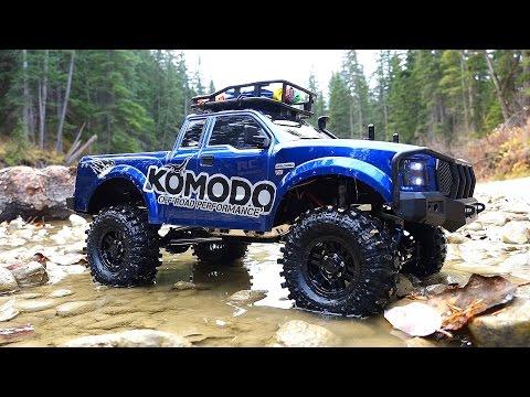 RC ADVENTURES - G Made GS01 Komodo 4x4 1/10 Electric Trail Truck - Let's go Creekin'! - default