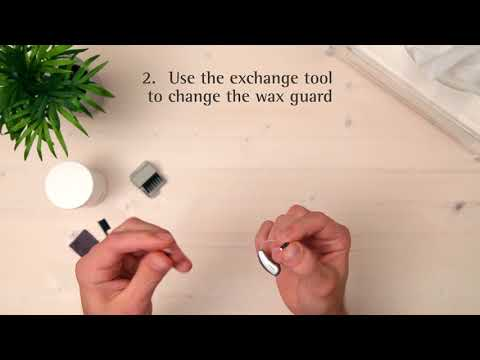 How to clean a Receiver in the Canal (RIC) hearing aid